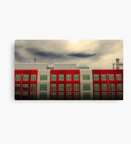 MFB Building 3 Canvas Print