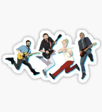 LEG UP Sticker