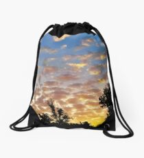 The Weather Is Beautiful by IdeaJones Drawstring Bag