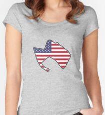 Laguna Seca Raceway Fitted Scoop T-Shirt