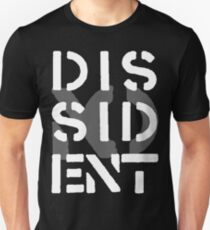 Crass Dissident T-shirt unisexe