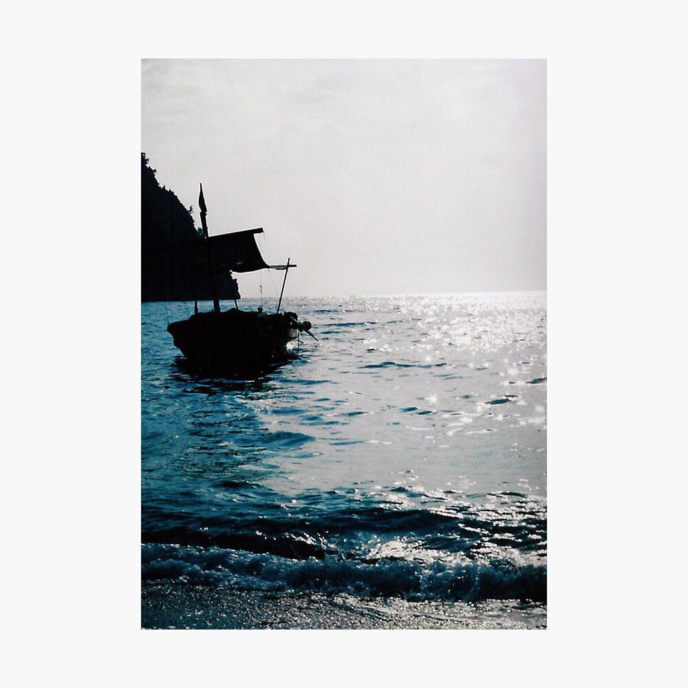 The sleeping Boat Photographic Print