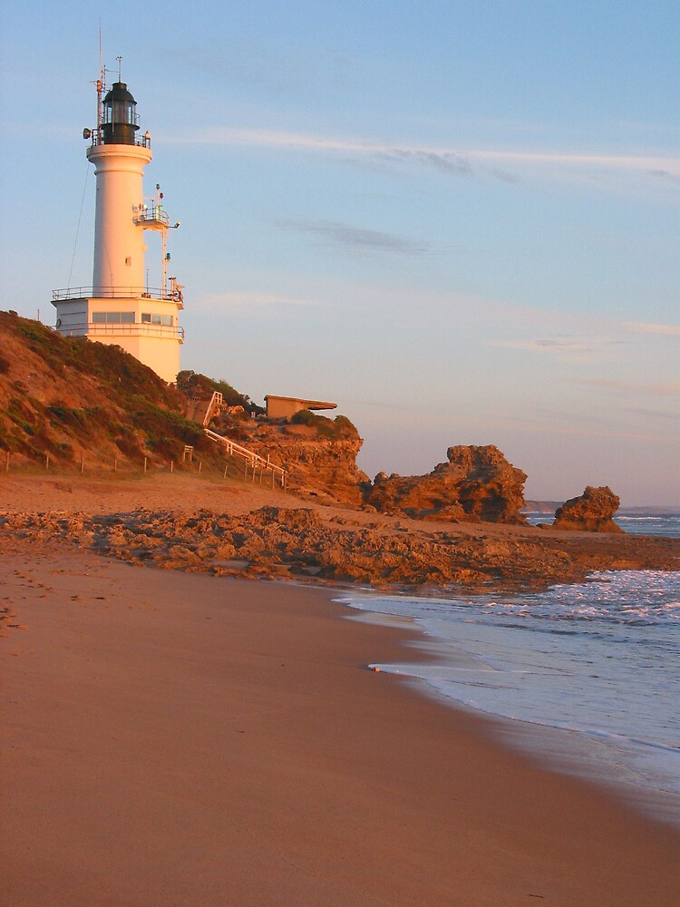 Point Lonsdale Lighthouse by Mark Williamson