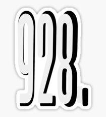 928 Sticker