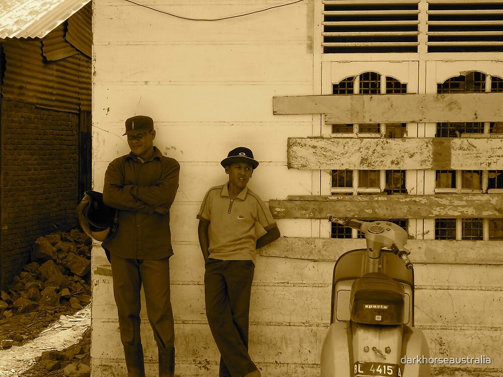 Banda Aceh - locals by darkhorseaustralia