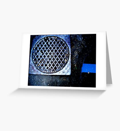 Drain Greeting Card