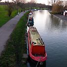 Canal boats by RandomAlex