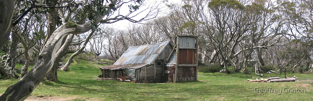 Wallace's Hut, Bogong High Plains by Geoffrey Grinton