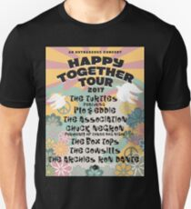 GURU2 the turtles The Happy Together Tour 2017 T-Shirt