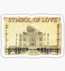 Taj Mahal (Symbol of Love) Sticker