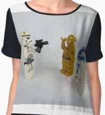 Toy Figure Characters Chiffon Top