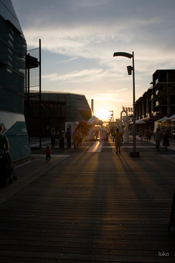 docklands summer by luko