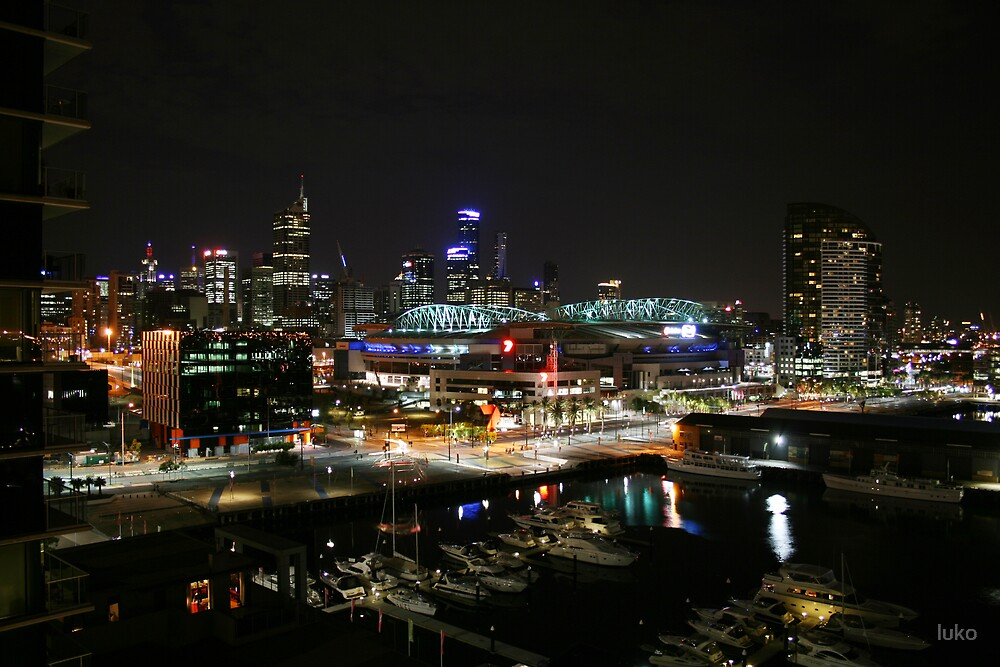 docklands night by luko