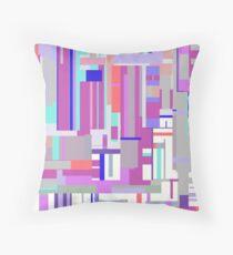 Colourful Blocks Throw Pillow