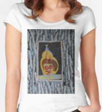 Doughnuts - Abstract Outsider Art Women's Fitted Scoop T-Shirt
