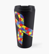 Autism Ribbon Travel Mug
