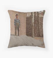 Kashgar, Boy Throw Pillow