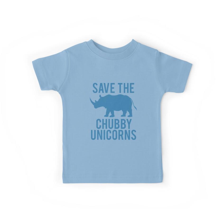Chubby Unicorns by Tiltedgiraffes