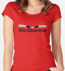 Lightning McQueen - Cars 3 Women's Fitted Scoop T-Shirt