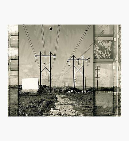 Drive-in Saturday Photographic Print