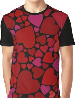 Hearty Hearts Graphic T-Shirt