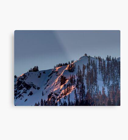 Mills Peak Metal Print