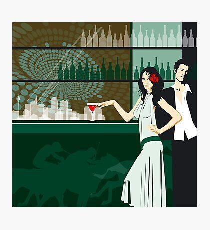 Cocktail bar Photographic Print