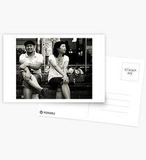 Longing. Postcards