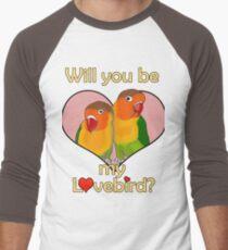 Lovebirds! Men's Baseball ¾ T-Shirt