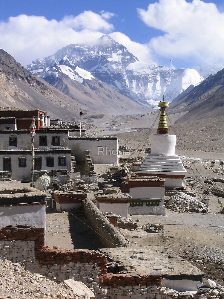 Mt Everest by Rhona
