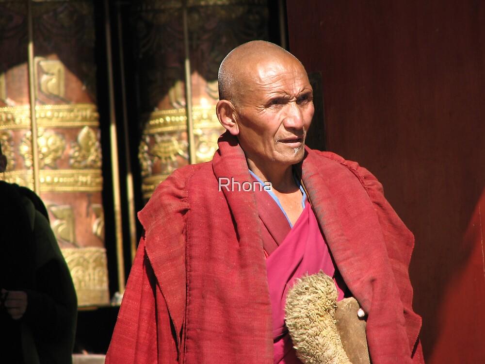 Monk by Rhona