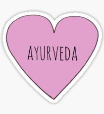 Ayurveda Love  Sticker