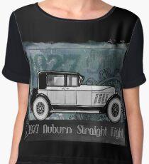 """1927  AUBURN  """"STRAIGHT EIGHT"""" Chiffon Top"""