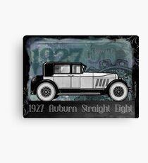 "1927  AUBURN  ""STRAIGHT EIGHT"" Canvas Print"