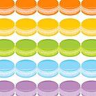 Macaron Rainbow by Adam Grey
