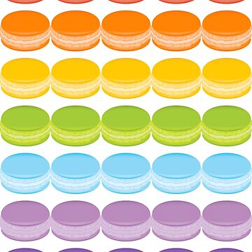 Macaron Rainbow by adamxgrey