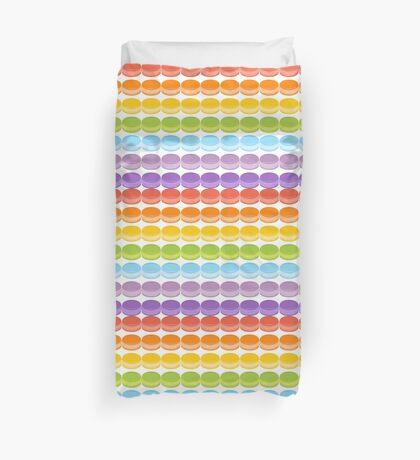 Macaron Rainbow Duvet Cover