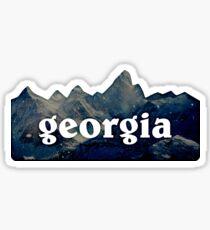 Pegatina Georgia