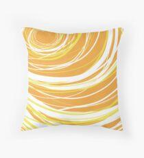 Swirls III Throw Pillow