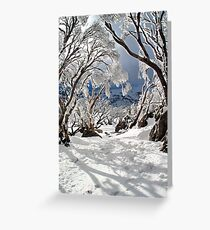 Snowgums Greeting Card