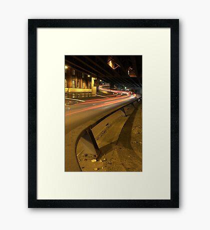 S Bend Framed Print