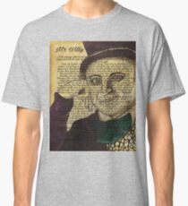 Willy Wonka Book Page Illustration Classic T-Shirt