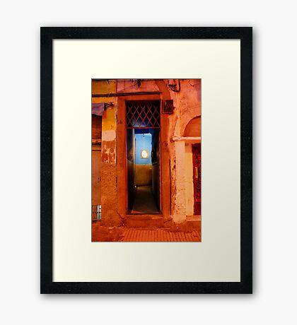 tardis Framed Print