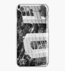 hollywood sign black and white iPhone Case/Skin