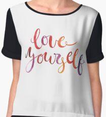 Love Yourself  Women's Chiffon Top