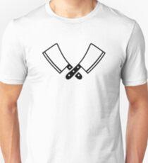 Butcher knives cleaver Unisex T-Shirt
