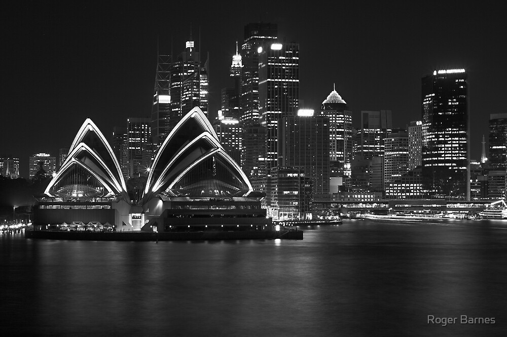 Sydney Opera House by Roger Barnes