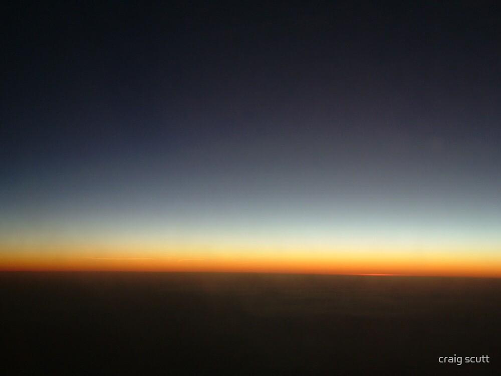 Sunset high by craig scutt