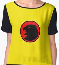 Hawkman / Hawkgirl Logo Chiffon Top