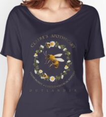 Claire's Apothecary (Bee Version) Women's Relaxed Fit T-Shirt